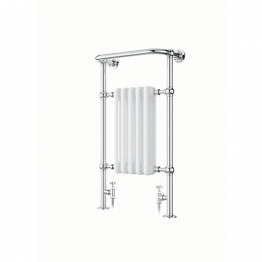 Iflo Cereme Designer Towel Radiator White /chrome 1510mm X 510mm