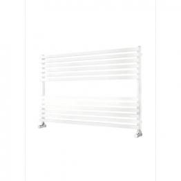 Iflo Larzac Designer Towel Radiator White 600mm X 1000mm