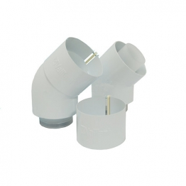 Glow-worm Pair 45 Degree Bends