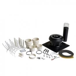 Worcester Bosch 7716190076 Greenstar Oil Boiler Oilfit 100mm Flexi Flue Kit 8m