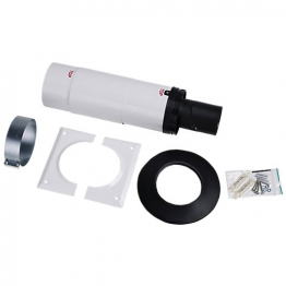 Worcester Bosch 7716190062 Greenstar Oil Boiler Oilfit 80/125 Short Telescopic Flue Kit