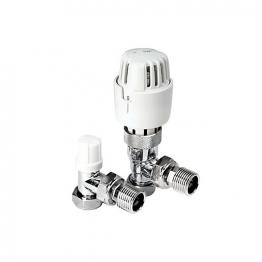 4trade Angle Trv Liquid Sensor Valve White Head 15mm
