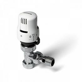 Altecnic Ca-200428ms Ecocal Angled Body Thermostatic Radiator Valve White Head 8mm