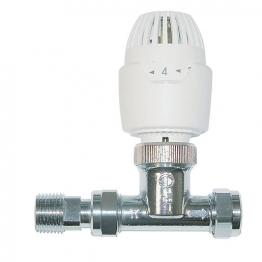 Drayton Trv Rt212 15mm Straight Integral White Head 0808115