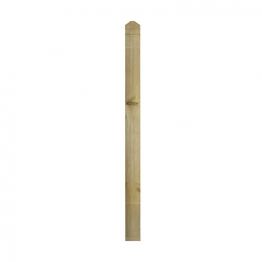 Square Patrice Decking Newel 82mm X 82mm X 1195mm