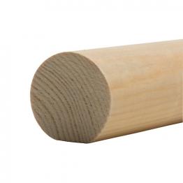 Handrail Mopstick Patt 563 50 X 50mm X 4.2m (fin Size 40 X 44mm)