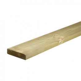Richard Burbidge Ld220 Treated Softwood Capping Rail 27mm X 115mm X 2400mm