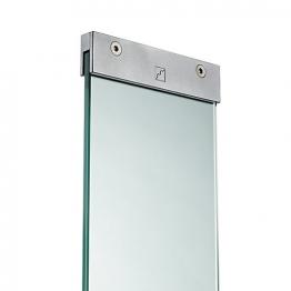 Richard Burbidge Ld258 Glass Panel With Brackets 876mm X 150mm X 8mm