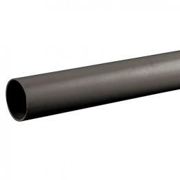 Osmaweld 5z073b 40mm Plain Ended Pipe Black 3m