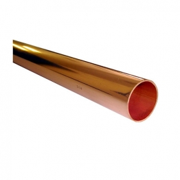 Wednesbury Copper Tube Plain Lengths Table X X015l-3 15mm X 3m