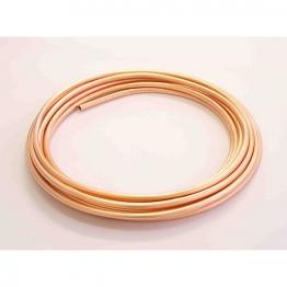 Wednesbury Copper Plain Coils Coil Table W W010c-10 10mm X 10m