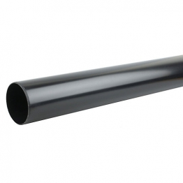 Osmasoil 4s073b 110mm Plain Ended Pipe Black 3m