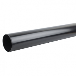 Osmasoil 6s074b 160mm Plain Ended Pipe Black 4m