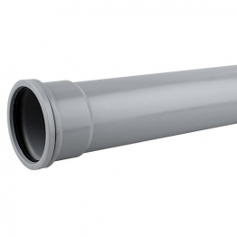 Osmasoil 3s044g 82mm Socketed Pipe Grey 4m