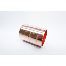 Jw Copper Endfeed Straight Coupling 42mm
