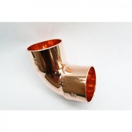 Jw Copper Endfeed Elbow 90 Degree 42mm