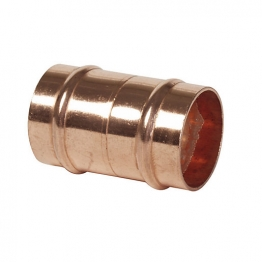 Straight Coupler 15mm With Integral Solder Ring