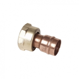 Conex Tp68 Solder Ring Straight Cylinder Union 22mm X 1in