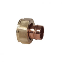 Conex Straight Tap Connector 22mm X 3/4in