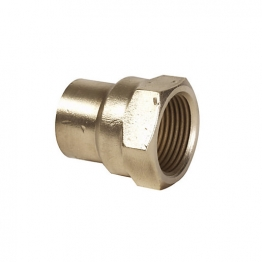 Conex Tp2 Solder Ring Straight Female Connector 15mm X 1/2in