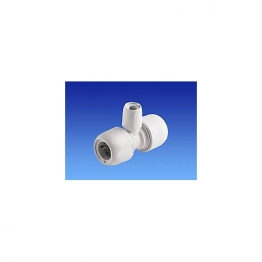 Hep2o Hd13a/28w Branch Reduced Tee White 28mm X 28mm X 15mm