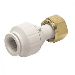John Guest Speedfit Pemstc1516 Straight Tap Connector 15mm X 3/4in