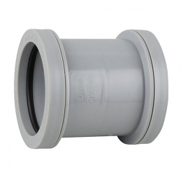 Osma Push-fit Waste 5w105g 40mm Double Socket Grey