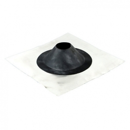 Osmasoil 4s281g 110mm Varipitch Pipe Flashing For Flat Roofs 400x400mm