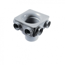 Osmasoil 4s597g 110mm 6 Boss Manifold Grey