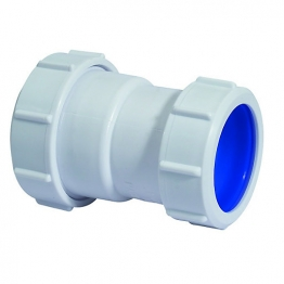 Mcalpine Multifit S28l-iso Straight Connector 32 X 32mm