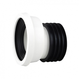 Osmasoil Wc204w 110mm Easy-fit Wc Pan Connector Offset 4' White