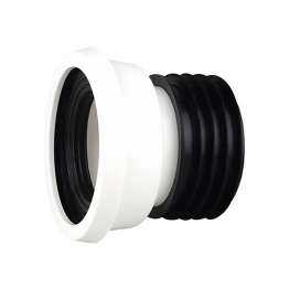 Osmasoil Wc004w 110mm Easy-fit Wc Pan Connector Straight 4' White