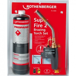 Rothenberger Superfire Torch With Propane Gas Cylinder