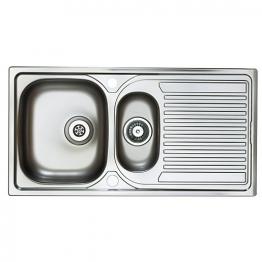 Aegean 1.5b Stainless Steel Inset Sink