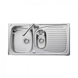 Leisure Euroline El9502/tcad2 1.5 Bowl Stainless Steel Sink & Tad2 Tap