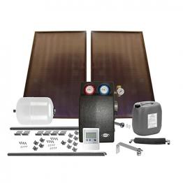 Grant Gsskit17 Solar 2 Panel Bronze In Roof Kit (slate)