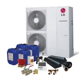Lg Therma-v 12kw Prestige Air Source Heat Pump Pack