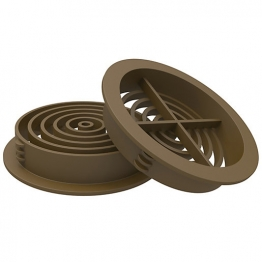 Manthorpe G700br Circle Soffit Vent Brown