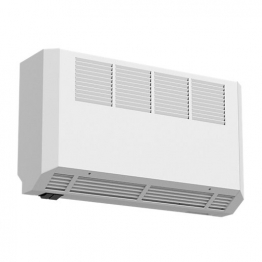 Smiths Ecovector Hl 1000-12v High Level Wall Mounted Fan Convector White