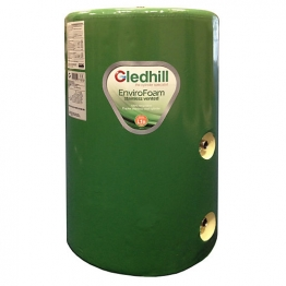 Gledhill Se42x18ind Indirect Envirofoam Lagged Steel Cylinder 140l 1050mm X 450mm