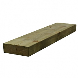 Sawn Timber Regularised Treated C16 75mm X 225mm