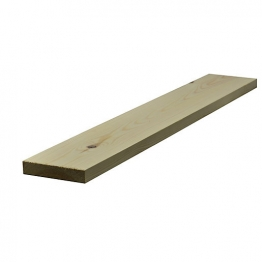 Redwood Planed Timber Standard 32mm X 138mm Finished Size 27mm X 130mm