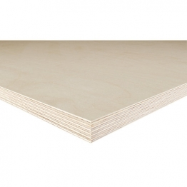 Birch Plywood Bb Grade 2440mm X 1220mm X 12mm Fsc