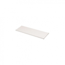Plastic Laminated Chipboard Shelving White 15mm X 2440mm X 228mm