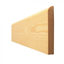 Skirting Bullnosed Standard 19mm X 100mm Finished Size 14.5mm X 94mm