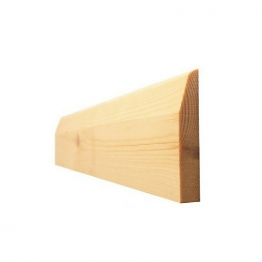 Skirting Chamf & Pencil Round Best 25mm X 150mm (fin Size 20mm X 144mm)