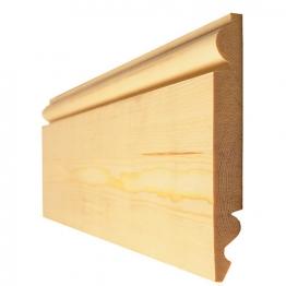 Timber Torus/ogee Skirting Standard 25 X 150mm