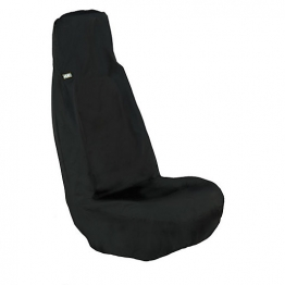 Heavy Duty Universal Front Car Seat Cover Grey