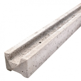 Supreme Concrete Intermediate Slotted Fence Post 6' 109mm X 94mm X 1830mm