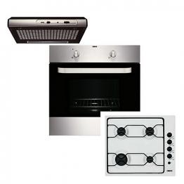 Zanussi Conventional Oven, Hood & Gas Hob Pk